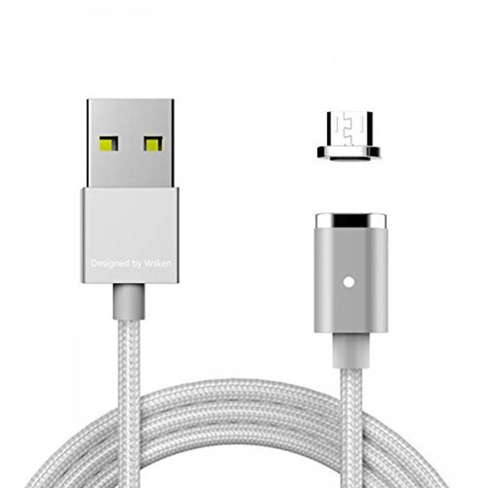 Wsken magnétique Embouts de connecteur pour Mini 1 et Mini 2 magnétique câble Micro USB Port de Charge Rapide pour Android