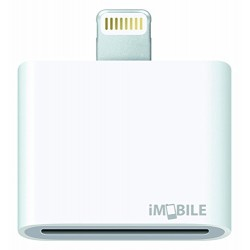 Nouvel Adaptateur iMobile compatible iPhone 5 / 5s / 5c, iPad mini - 30 pin /...