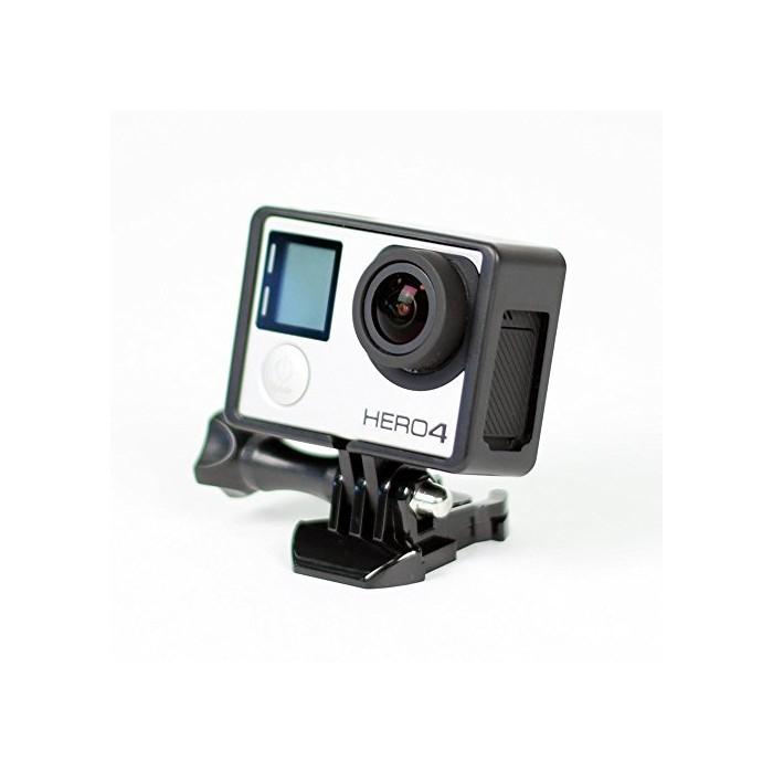 TARION® Cadre de bordure/Frame/Boîtier de protection fixation monture standard pour GoPro HD Hero3/3+
