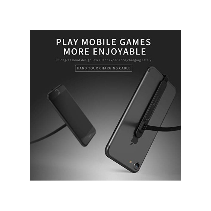 Câble Gamer 90 Degré Micro USB, Type C, lighning