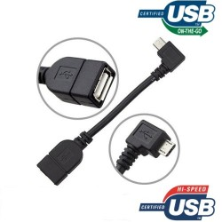 Cable OTG Micro USB B/Male...